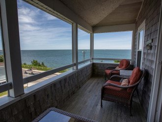 Oceanfront A/C Family-Friendly Home at Falmouth Heights Beach